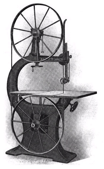 19th century knowledge carpentry and woodworking pattern b bandsaw