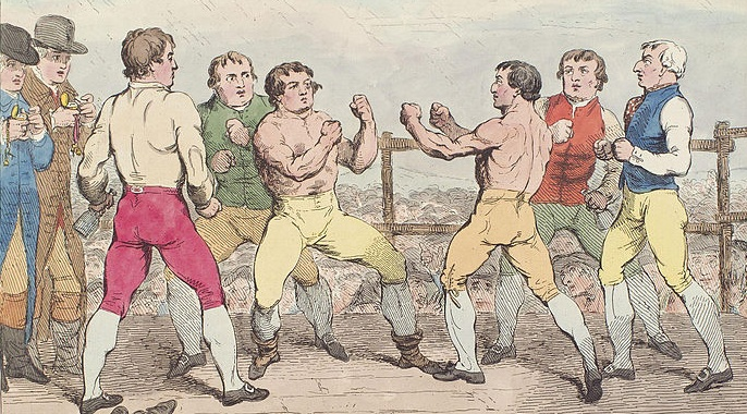 Boxing fight