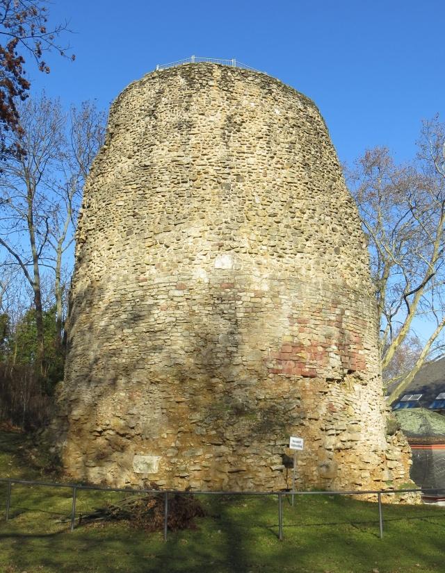 Drusus Stone in the citadel of Mainz.