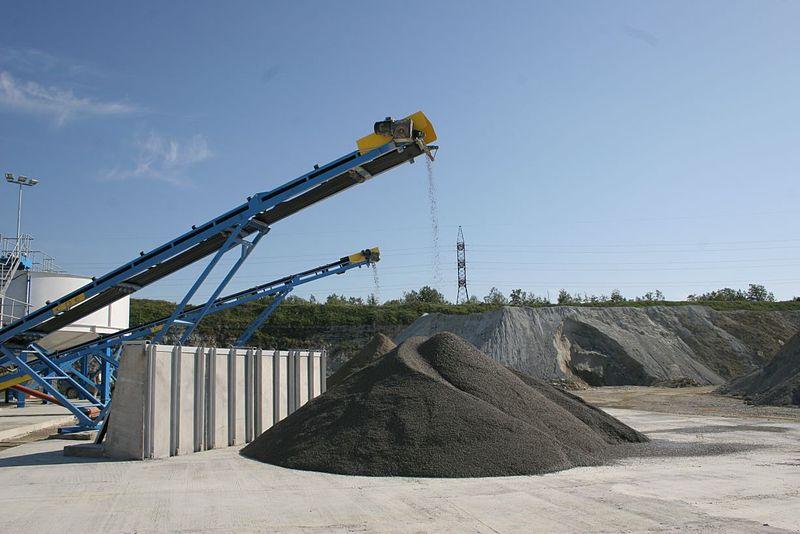 Sand Stockpile