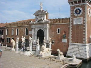 Land Gate of the Arsenal of Venice