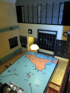 RAF Sector Fighter Control Room Maps