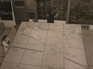RAF Sector Fighter Control Room of the Lascaris War Rooms