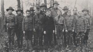 US boy scouts 1910