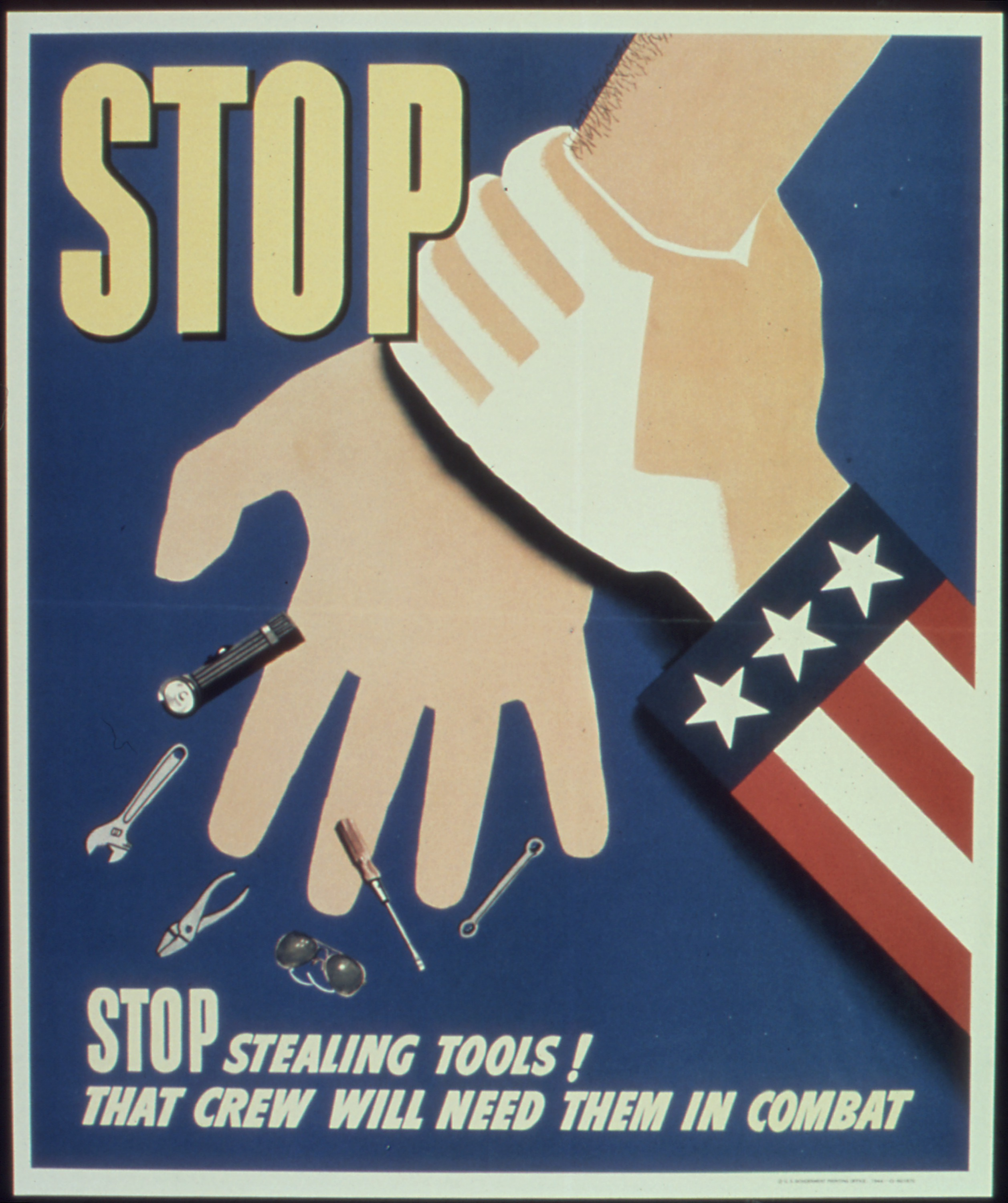 Stop Stealing Tools