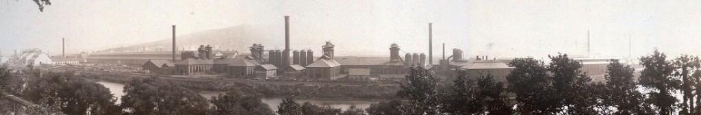 Bethlehem Steel plant 1896