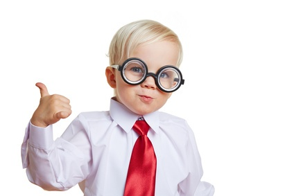 Kid with Glasses