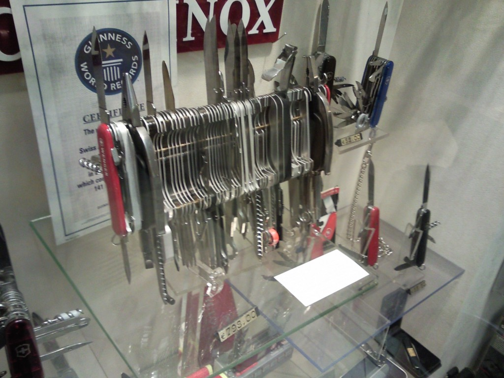Giant Swiss Army Knife