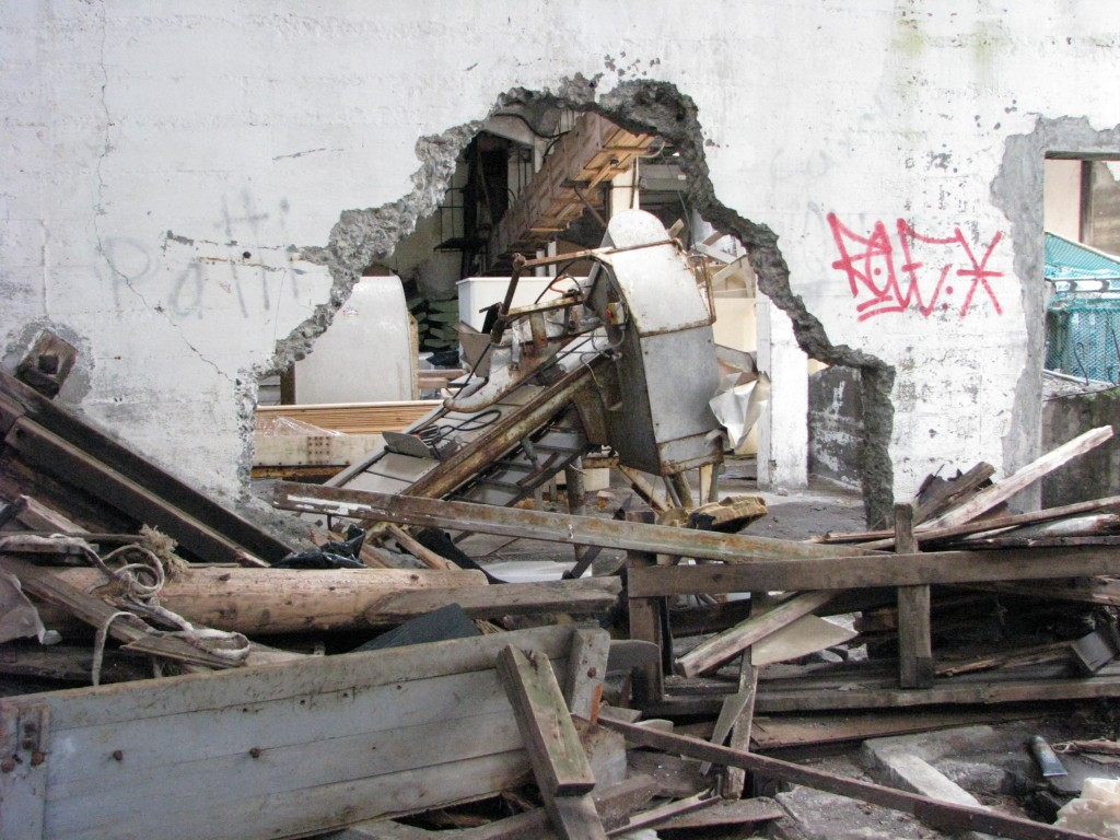 Messy Abandoned Factory