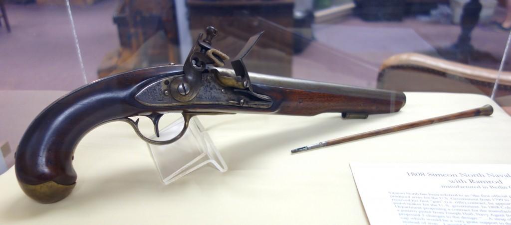 Simeon North Naval Pistol with Ramrod