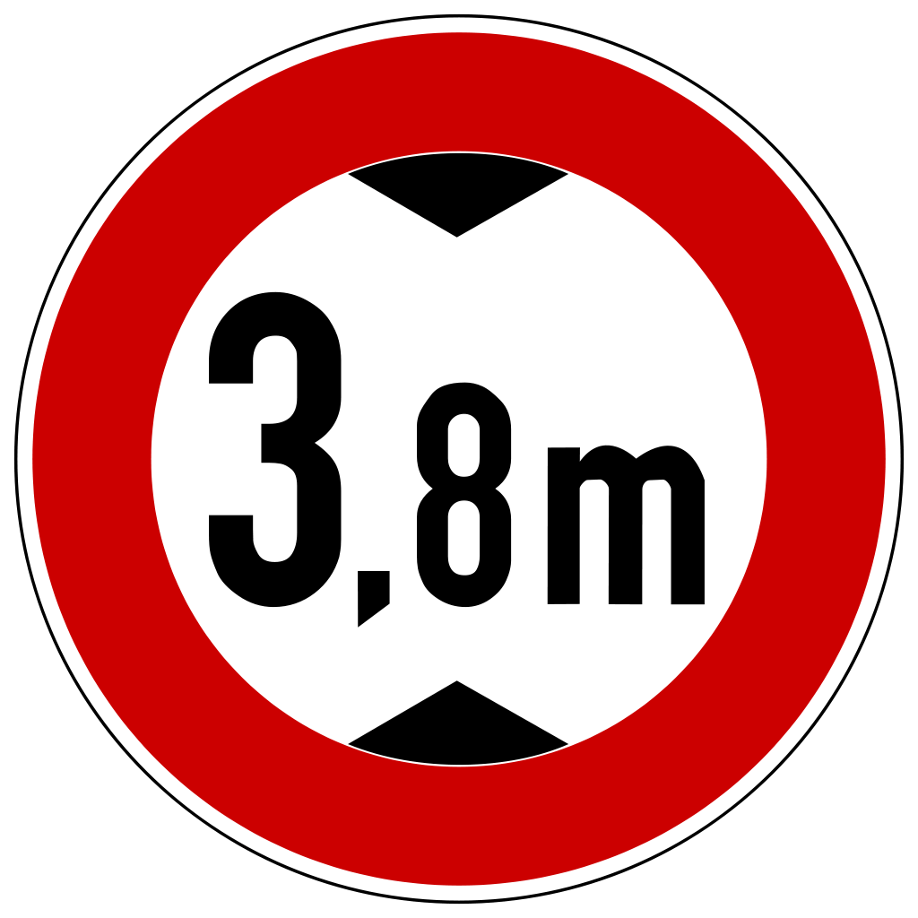 Max Height Sign Germany