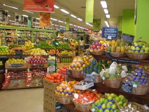 Supermarket in Brazil