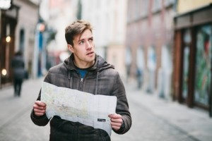 Guy with Map