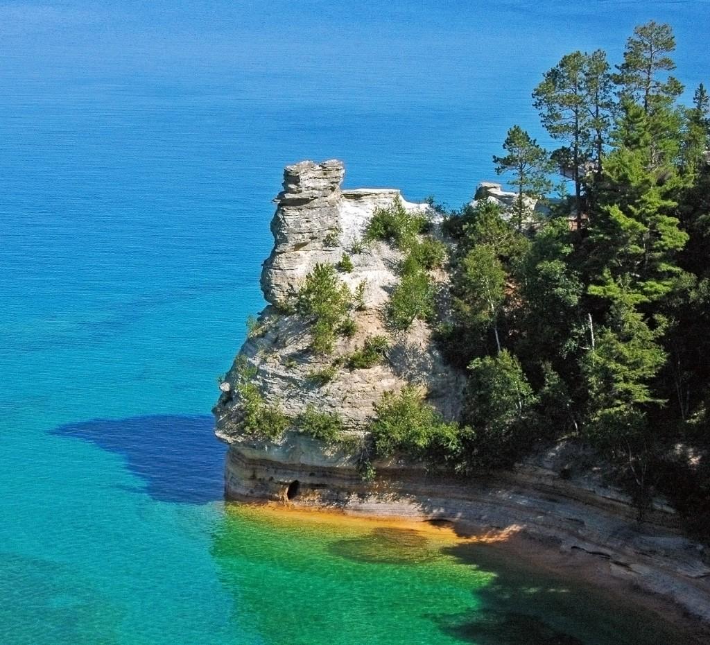 Miners Castle, Lake Superior