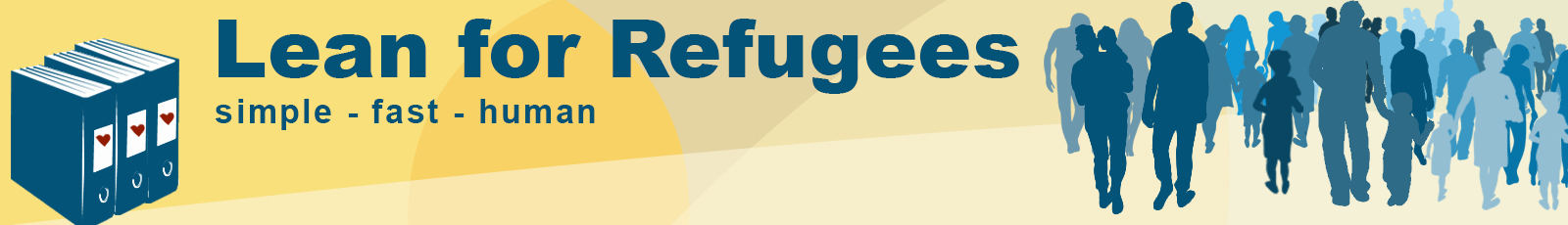 Banner Lean for Refugees