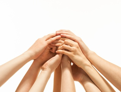 Helping Hands Of A >> Hands together | AllAboutLean.com
