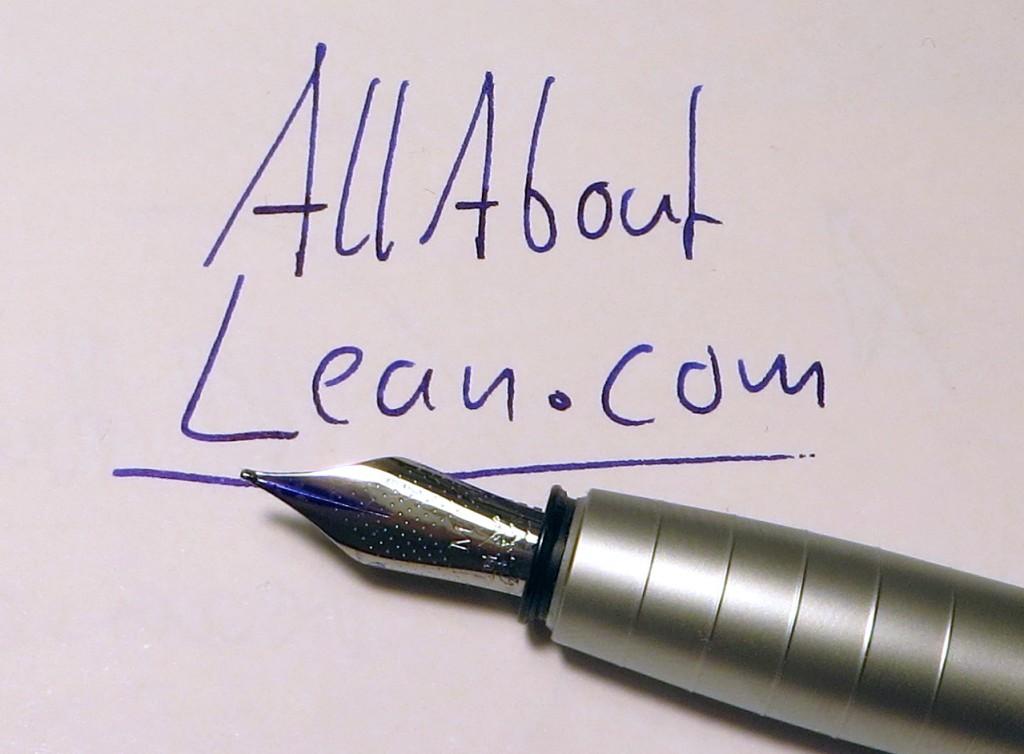 AllAboutLean Fountain Pen