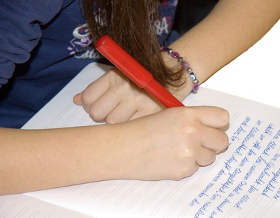 School Handwriting