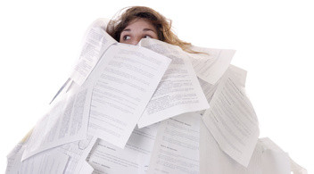 Drowning in paper