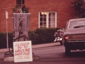 No Gas in Portland, June 1973