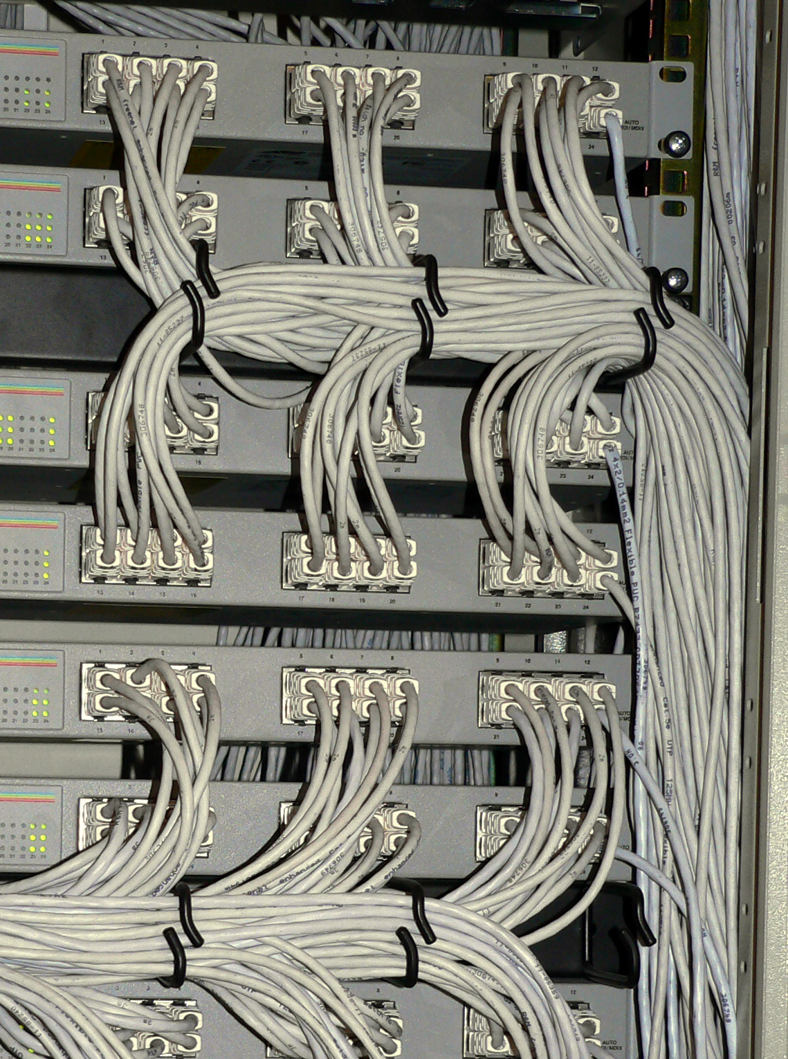 Organized Cables