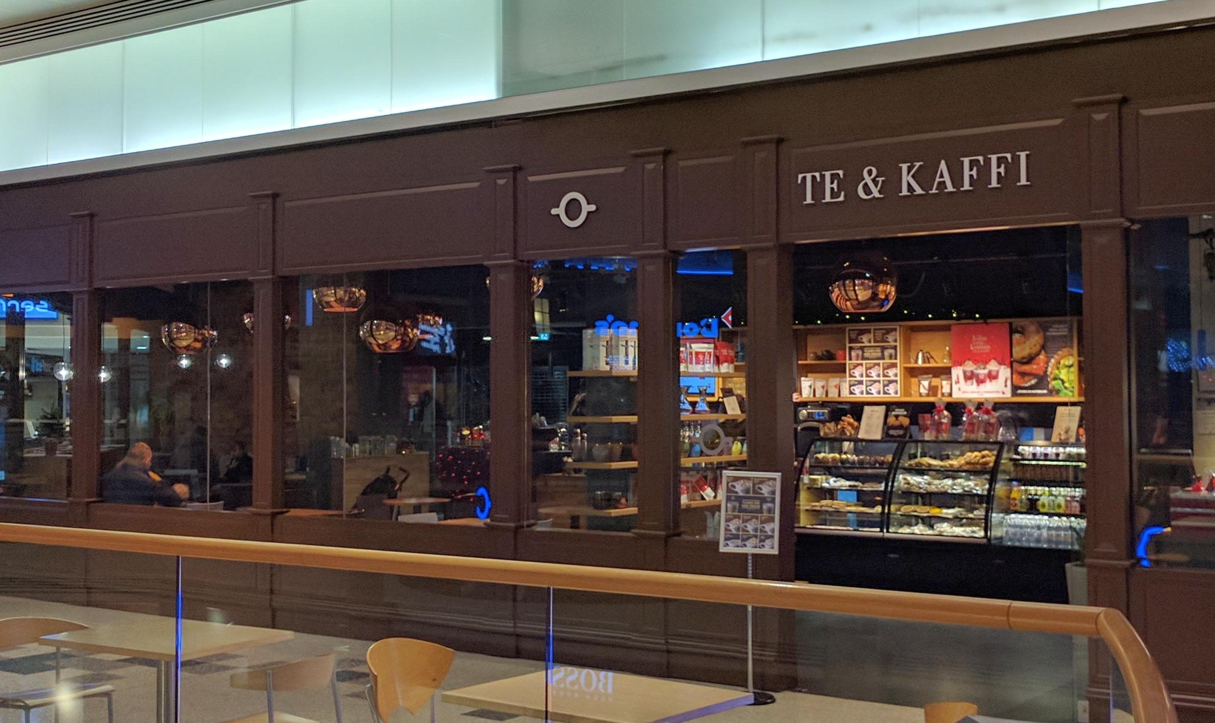 Te & Kaffi Kringlan Mall Exterior
