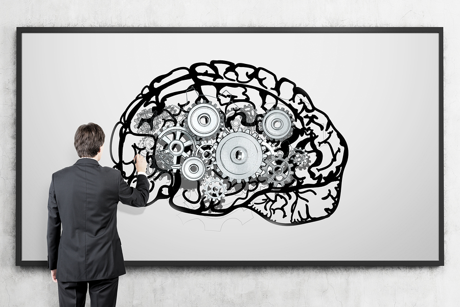 Brain on Whiteboard