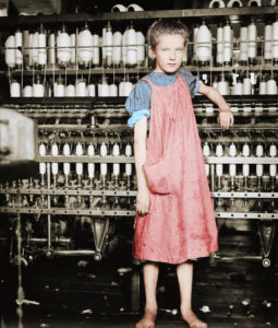 Addie Card Colorized