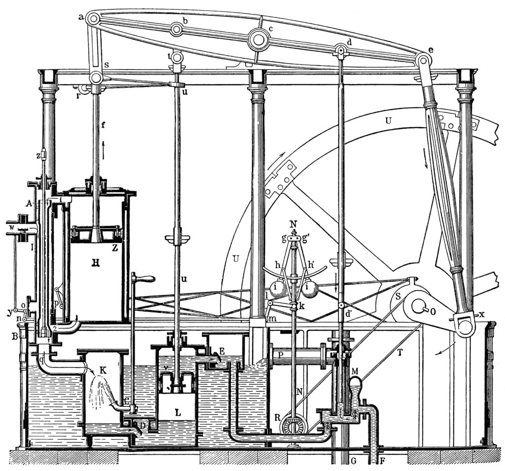 James Watt Steam Engine