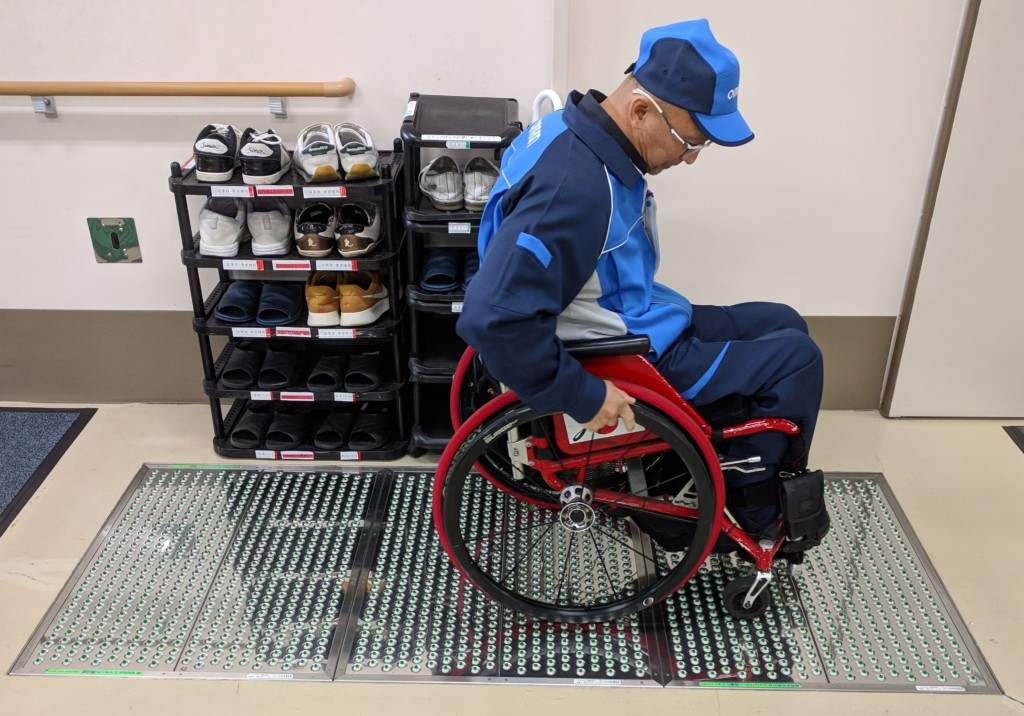 Wheelchair Vacuum Cleaning