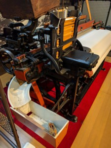 Toyoda Model G Automatic Loom Detail Automatic Shuttle Change