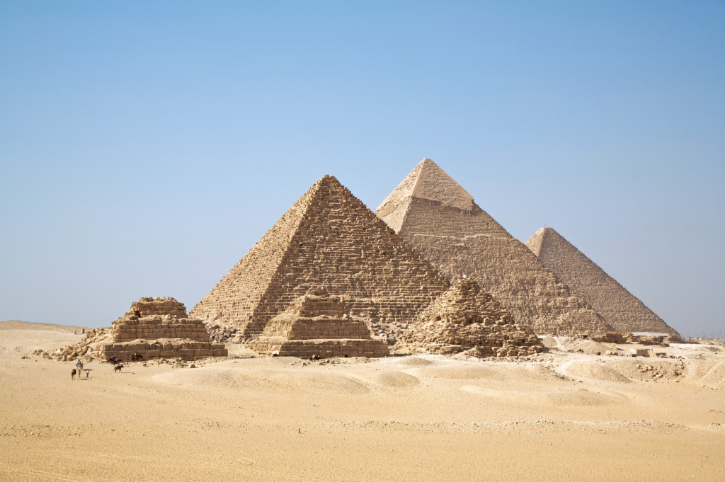 All Giza Pyramids