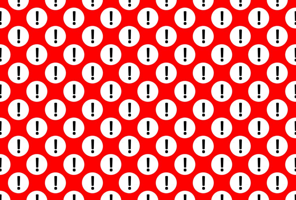 Polka Dot Warning