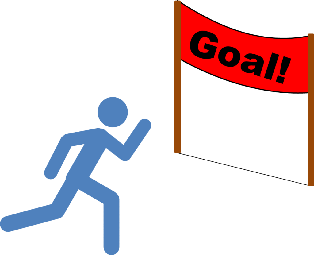 Running to Goal