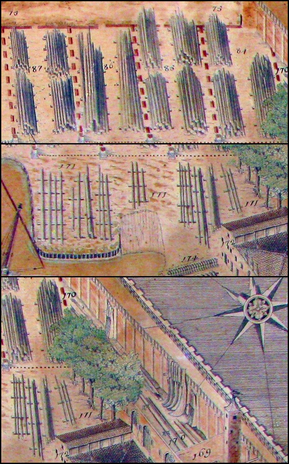 Arsenal of Venice Masts Stations