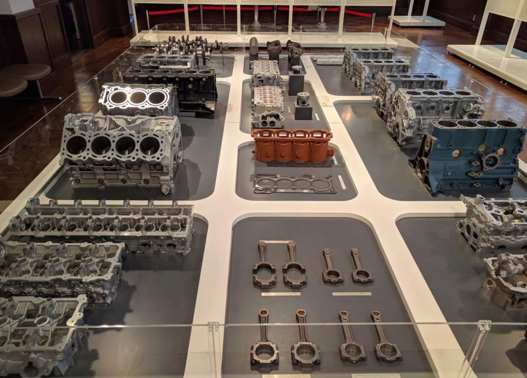 Nissan Engine Block Display