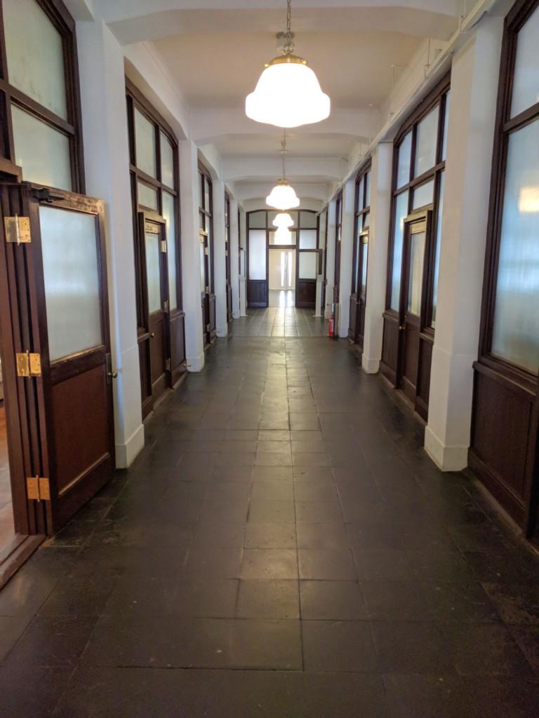 Nissan Historic Office Corridor