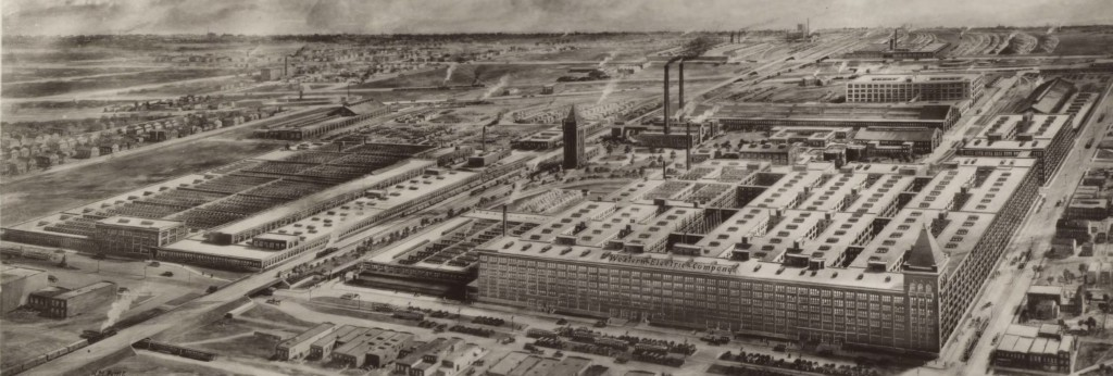 Hawthorne Works, Western Electric, 1925