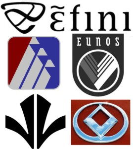 Mazda Logo Variety