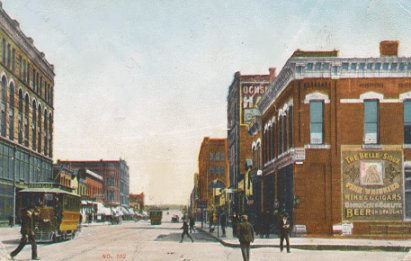 Sioux City Iowa 1900s