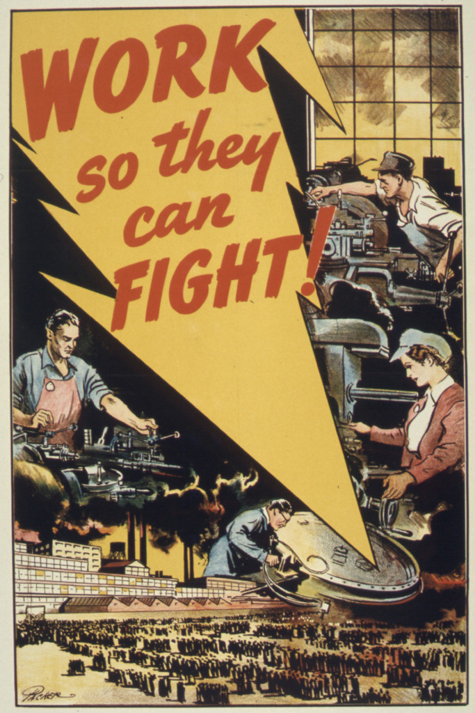 Work so they can fight!