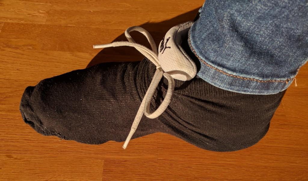 Sock over Shoe