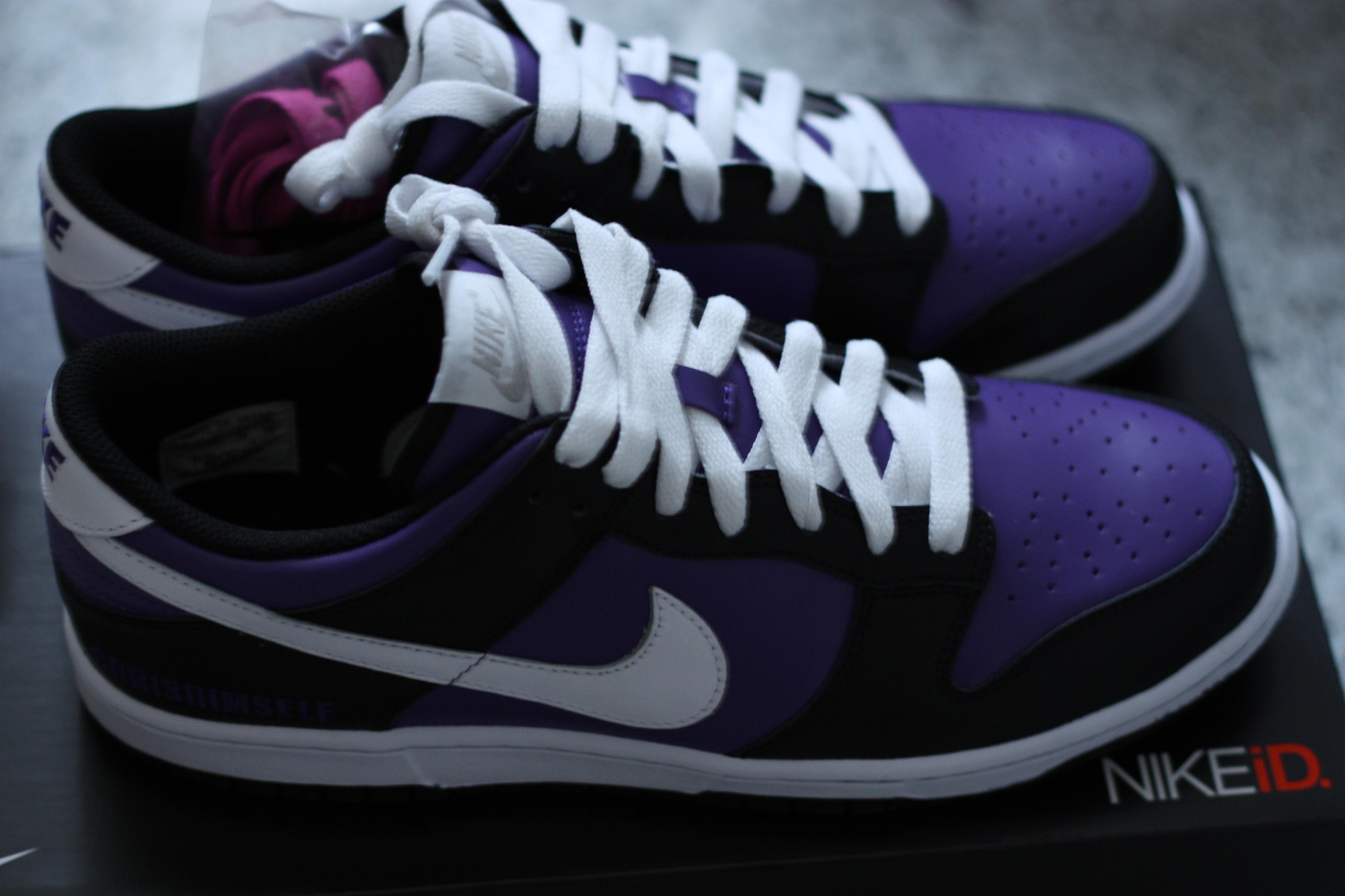 NikeID customized shoe