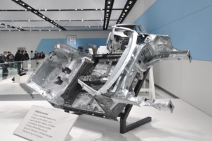 Volkswagen MQB floor assembly