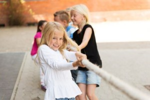Children Tug of War