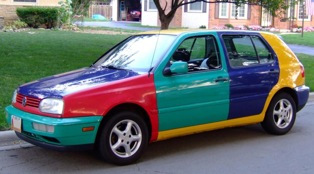 VW Golf Harlequin