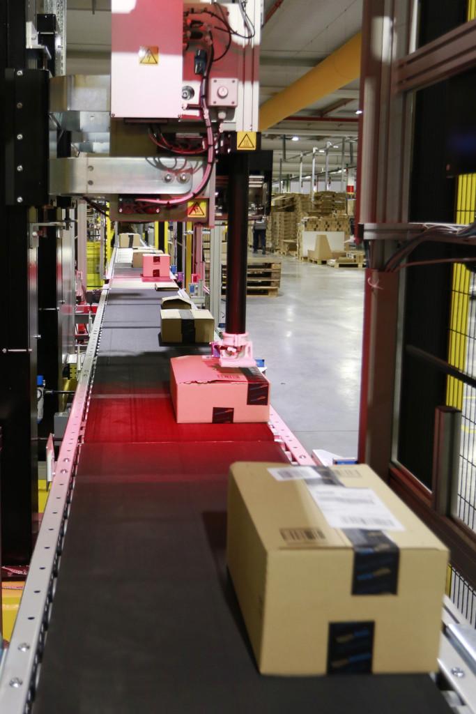 SLAM process at Amazon
