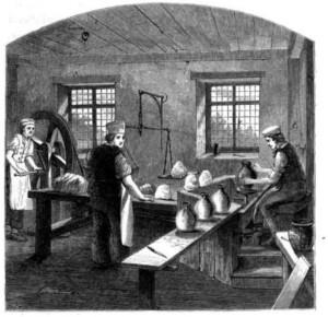 Wedgwood Etruria Throwing Room
