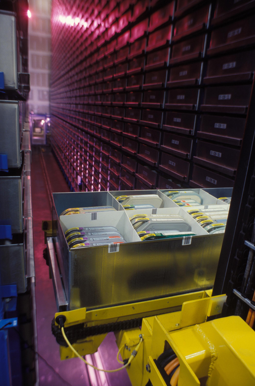 Automated Storage Retrieval Shelf System