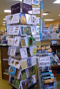 Spinner Rack in Bookstore